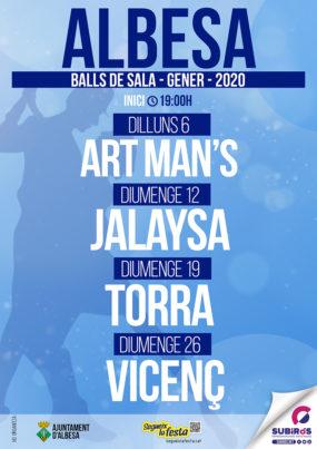 Balls de sala Albesa gener 2020