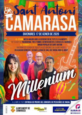 CAMARASA FESTA DE SANT ANTONI GENER 2020