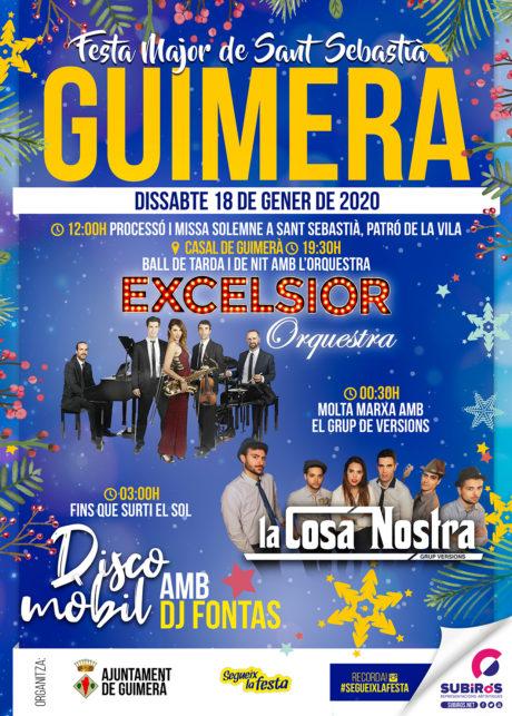 GUIMERÀ FESTA DE SANT SEBASTIÀ GENER 2020