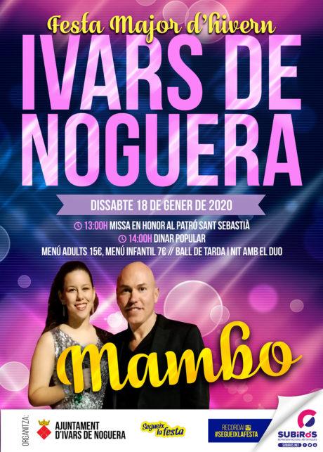 IVARS DE NOGUERA FESTA MAJOR D'HIVERN GENER 2020