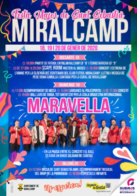 MIRALCAMP FESTA MAJOR D'HIVERN GENER 2020