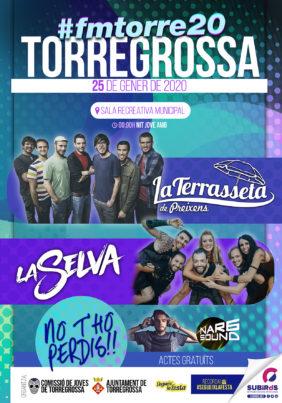 TORREGROSSA FESTA JOVE DE SANT VICENÇ GENER 2020